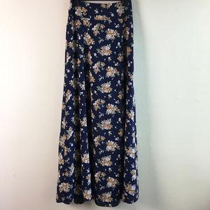"""Flynn Skye """"Rara"""" maxi skirt with thigh-high slit"""